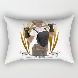 Steampunk Occupation Series: Mechanic Rectangular Pillow