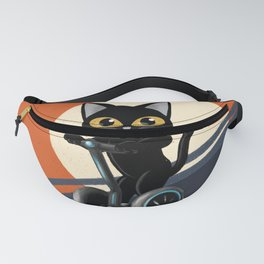 Standing motorcycle Fanny Pack