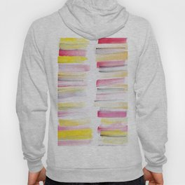 10   | 181101 Watercolour Palette Abstract Art | Lines | Stripes | Hoody