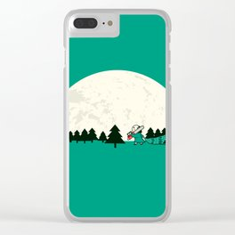 Christmas the 25th Clear iPhone Case