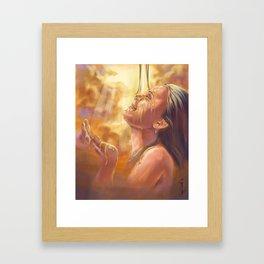 Soaking in Glory Framed Art Print