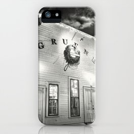 Gruene Hall - Oldest Dance Hall in Texas iPhone Case