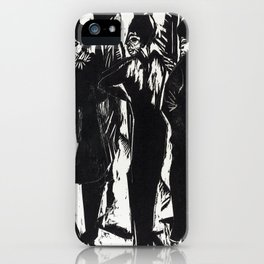 Ernst Ludwig Kirchner Five Women on the Street iPhone Case