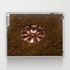 Wheel Lay On The Lawn Laptop & iPad Skin