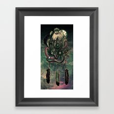 The Dream Catcher: Old Hag's Bane Framed Art Print