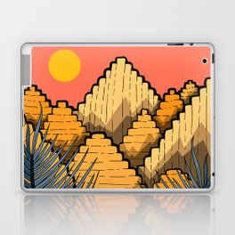 Pyramid Mountains Laptop & iPad Skin