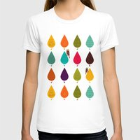leaves T-shirts featuring Leaves by Kakel