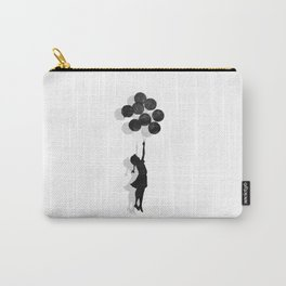 Banksy Fly Away  Carry-All Pouch