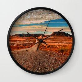 A Drive To Oblivion Wall Clock