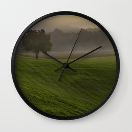 That peaceful moment II Wall Clock