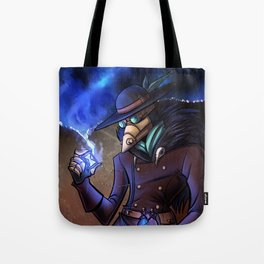 Steampunk Time Traveller Tote Bag