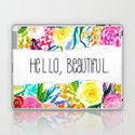 Neon Summer Floral + Hello Beautiful by melissapolomsky