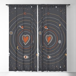 Love Universe Blackout Curtain