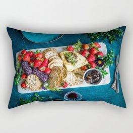 cheese platter Rectangular Pillow
