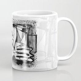 Drinker - b&w Coffee Mug