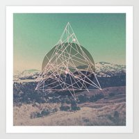 trip Art Prints featuring Trip by insomniathan