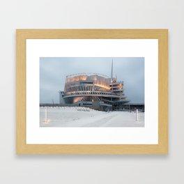 Montréal in November (1 of 11) Framed Art Print
