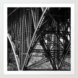 Strawberry Mansion Bridge, Philadelphia Art Print