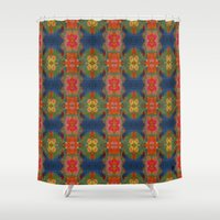 wild things Shower Curtains featuring Where Wild Things Grow by lisa weedn