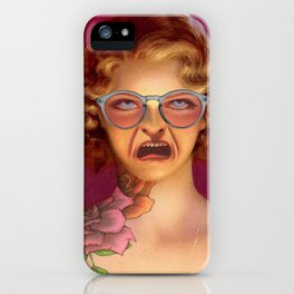 MY SMILE IS JUST A FROWN TURNED UPSIDE DOWN iPhone Case