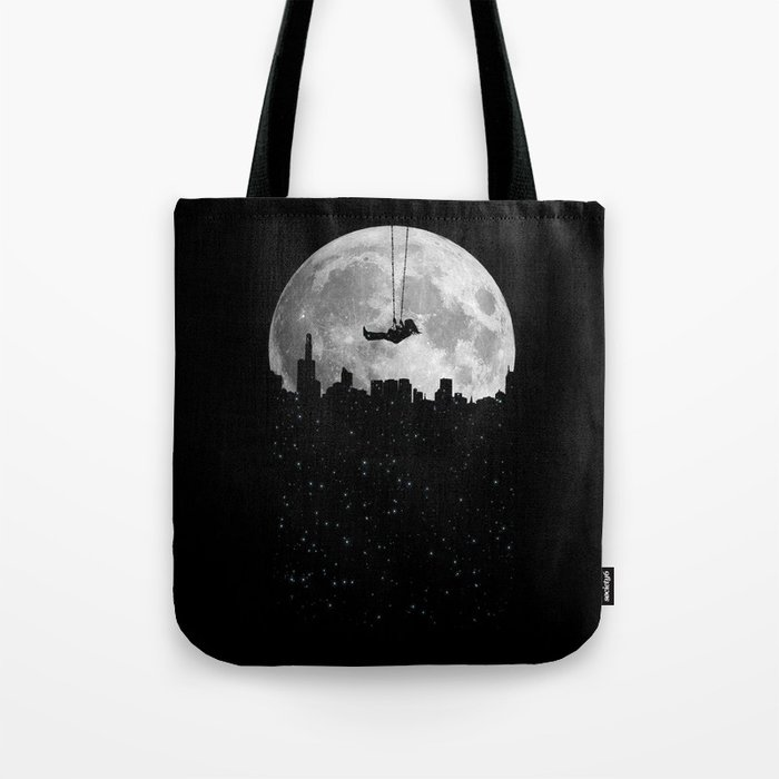 The Moon Swing Tote Bag