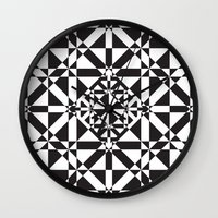 compass Wall Clocks featuring Compass by Vadeco