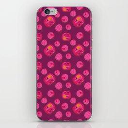 PUMPKING PINK iPhone Skin