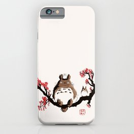 My neighbour art iPhone Case