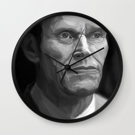 William Dafoe Wall Clock