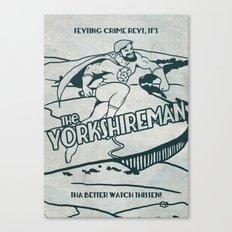 The Yorkshireman Canvas Print