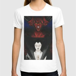 Lily And Darkness T-shirt