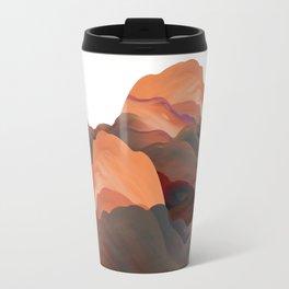 """Coral Mountains"" Travel Mug"