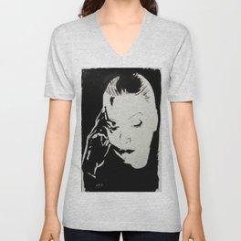 Greta Garbo Unisex V-Neck