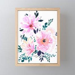 Floral Daydream Framed Mini Art Print