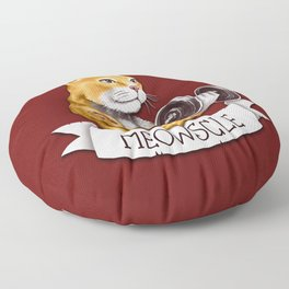 Meowscle Floor Pillow