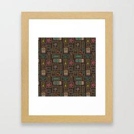 Hawaiian Tiki Framed Art Print