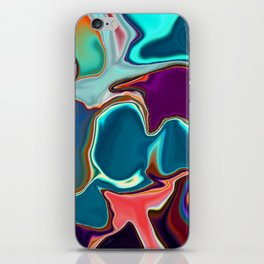 Liquid Color iPhone Skin