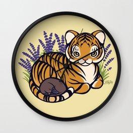 Loafing Tiger, Hidden Platypus Wall Clock