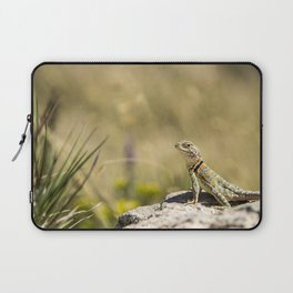 Lizard At Attention Laptop Sleeve