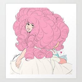 PearlRose Art Print