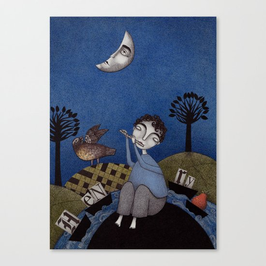 Henry and Adele Canvas Print