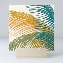 Golden Hour Palms Mini Art Print