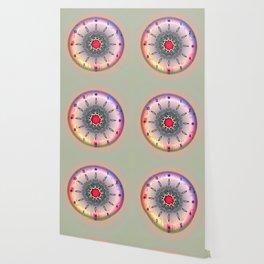 Time - Floral Clock Wallpaper