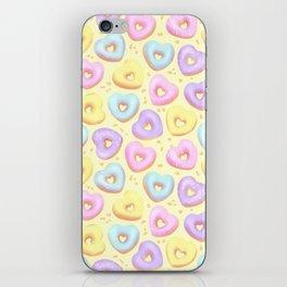 I Heart Donuts iPhone Skin