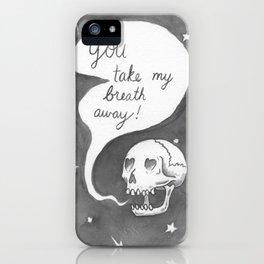 Romantic Skull iPhone Case