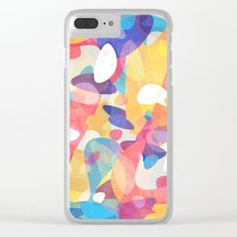 Chaotic Construction Clear iPhone Case