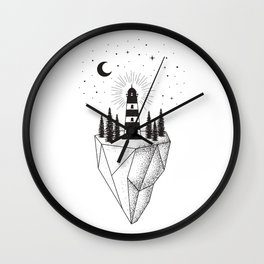 The Lighthouse Wall Clock