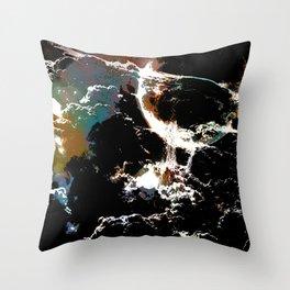 Asphyxia Throw Pillow