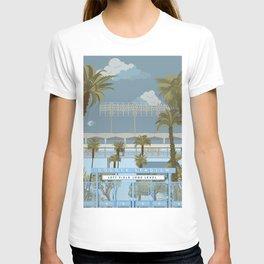 Dodger Stadium Gates View T-shirt