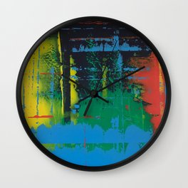 Color Chrome Wall Clock